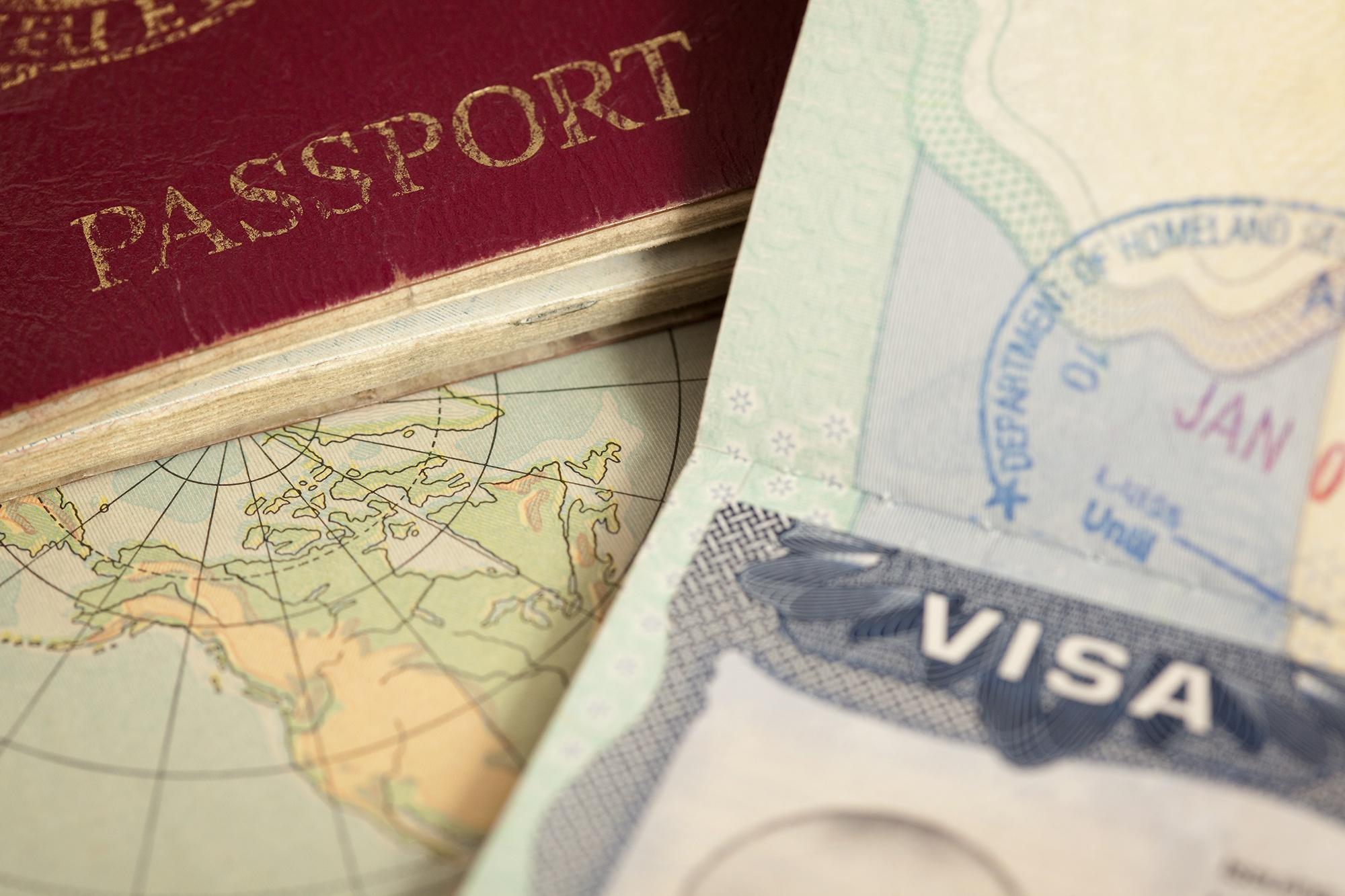 E-1 Treaty Trader visa passport